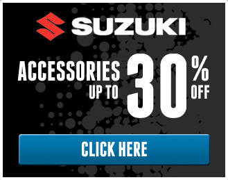 Suzuki Accessories up to 30% off